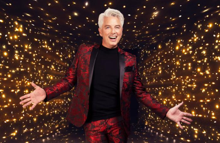 """John Barrowman in a promotional photo for """"Dancing on Ice"""""""